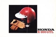 Honda N600 gtl België