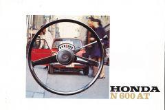 Honda N600 automaat