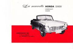 Honda S600 Frankrijk